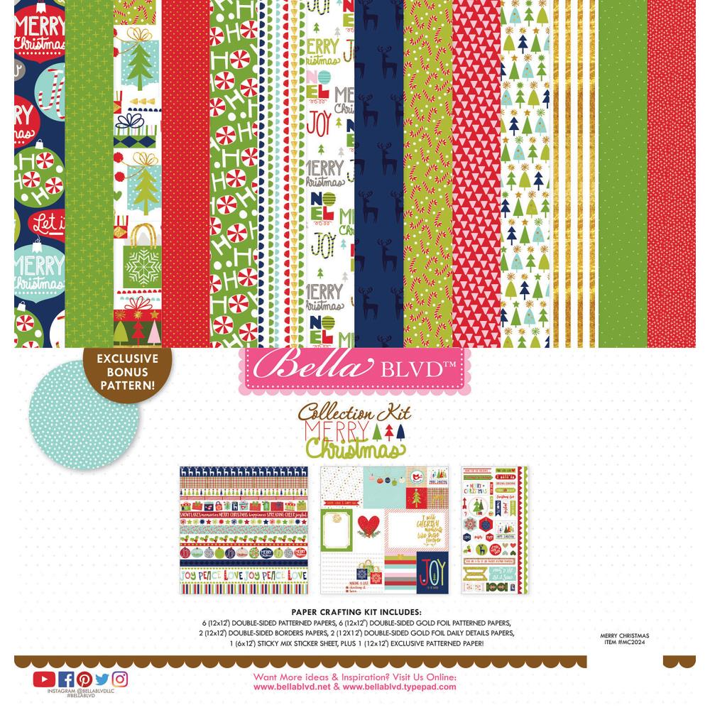 Bella Blvd Merry Christmas Collection Kit - Scrap Of Your Life