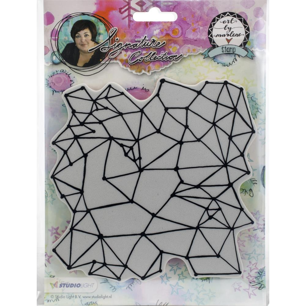 Art By Marlene Background Stamp #1 - Scrap Of Your Life