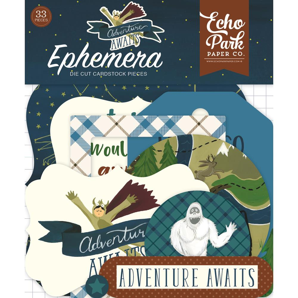 Echo Park Adventure Awaits Cardstock Diecuts Frames and Tags - Scrap Of Your Life