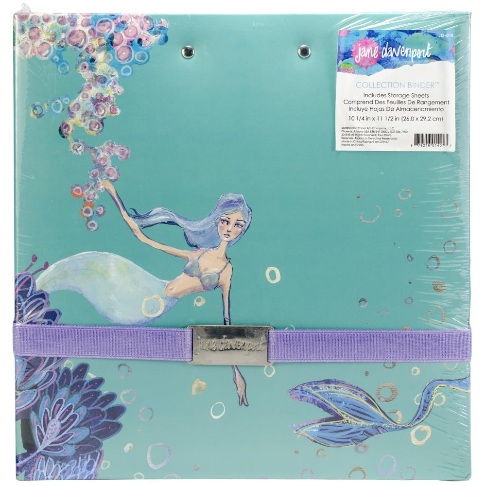 Jane Davenport Spellbinders - Artomology Collection - Collection Binder - Scrap Of Your Life