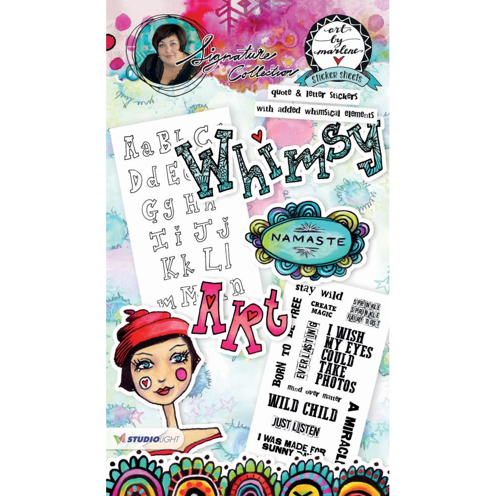 Art By Marlene Sticker Book - Scrap Of Your Life