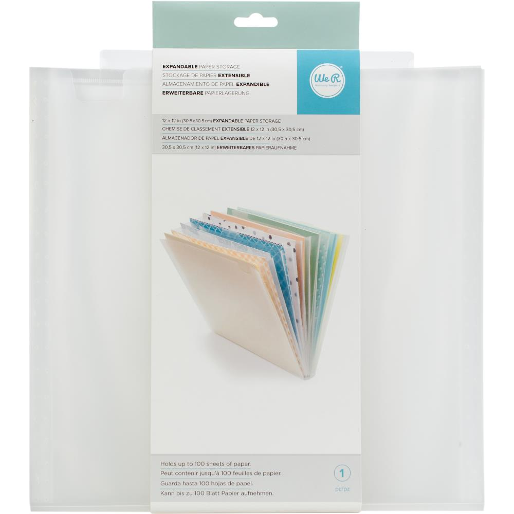 "We R Expandable Paper Storage 12.5""X13"" - Scrap Of Your Life"