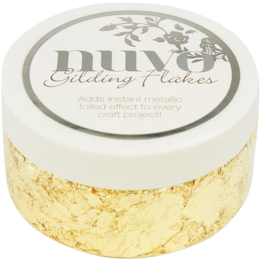 Tonic Studios Nuvo Gilding Flakes Radient Gold - Scrap Of Your Life
