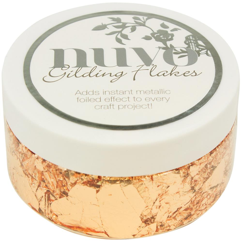 Tonic Studios Nuvo Gilding Flakes Sunkissed Copper - Scrap Of Your Life
