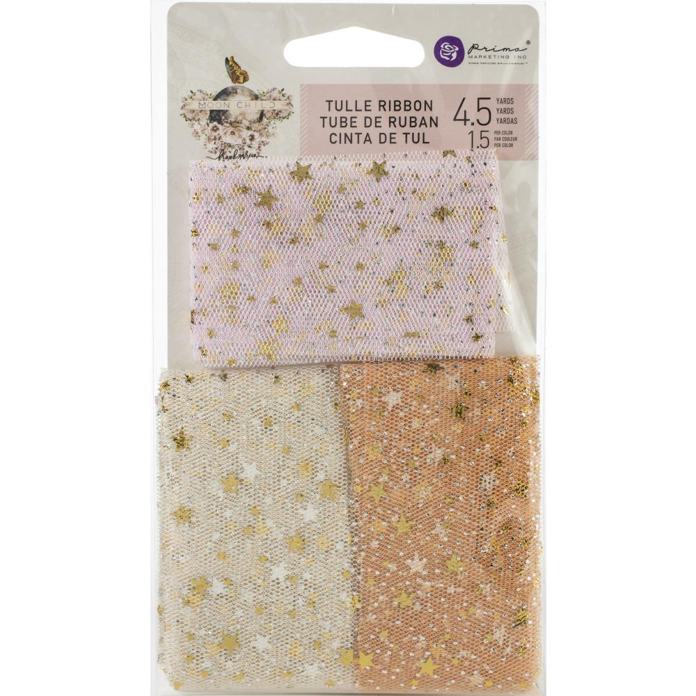 Prima Marketing Moon Child Tulle 3/Pkg - Scrap Of Your Life