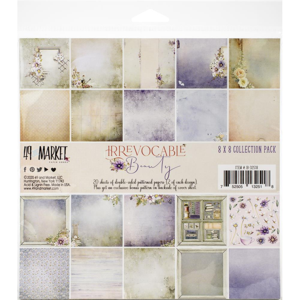 "49 and Market Collection Pack 8""X8"" Irrevocable Beauty - Scrap Of Your Life"