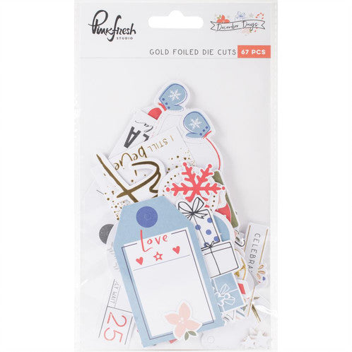 PinkFresh - December Days Die Cuts - Scrap Of Your Life