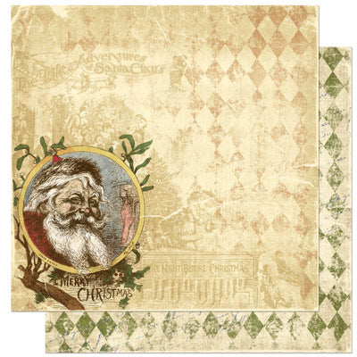 Bo Bunny Noel Collection 12 x 12 Double Sided Paper - Noel