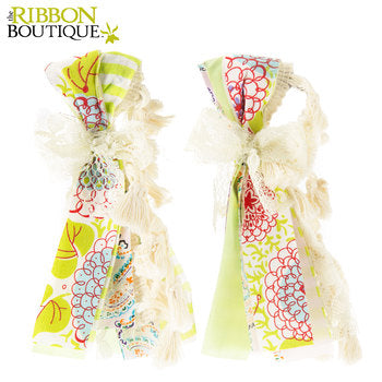 Floral Fabric Tassels - Scrap Of Your Life