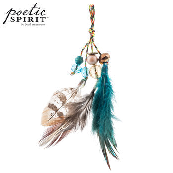 Feather Tassel Pendant - Scrap Of Your Life