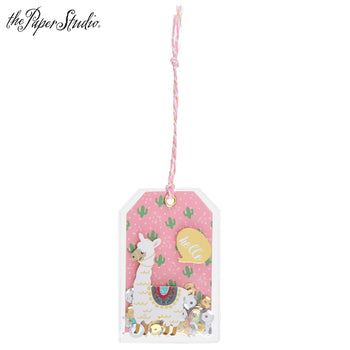 Scrap of Your Life Llama Shaker Tags - Scrap Of Your Life