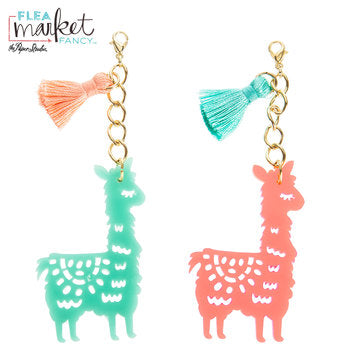 Scrap of Your Life Llama & Tassel Charms