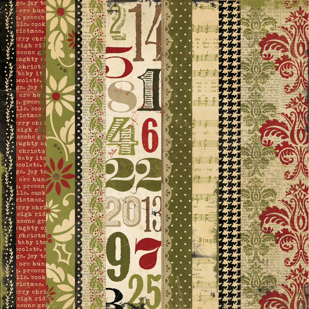 Simple Stories - 25 Days of Christmas - Merry and Bright - Scrap Of Your Life