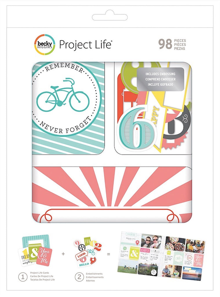 Project Life Value KIt Embossed - Scrap Of Your Life
