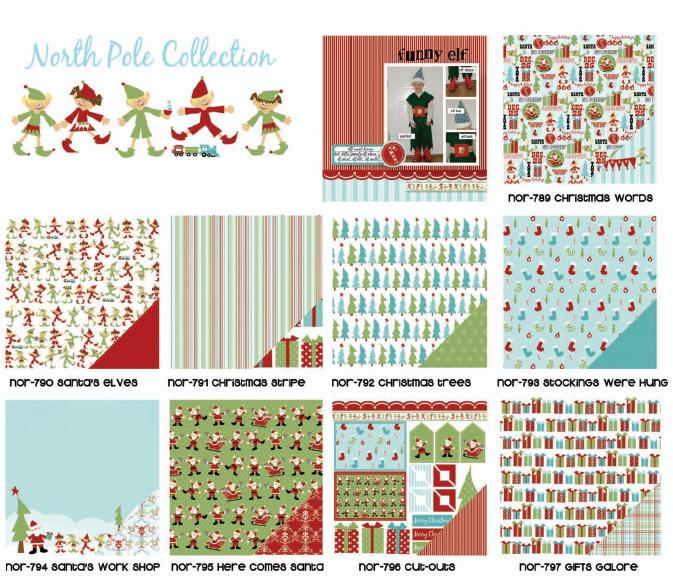 Three Bugs in a Rug Caboodle Collection Kit North Pole - Scrap Of Your Life