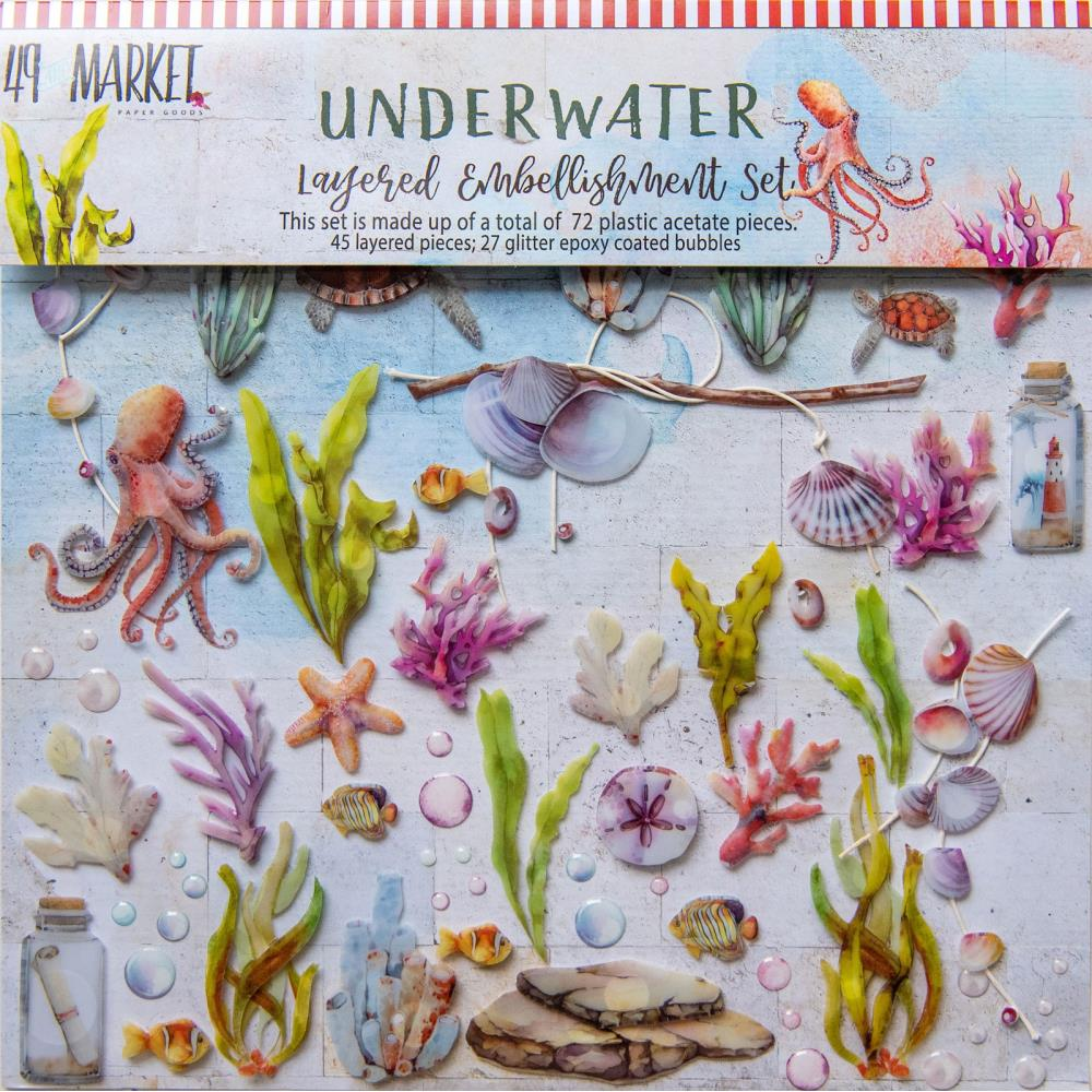 49 and Market Seaside Shipwreck Layered Embellishments - Scrap Of Your Life