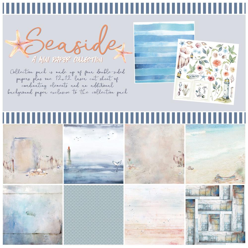 49 and Market Seaside Collection Kit Seaside - Scrap Of Your Life