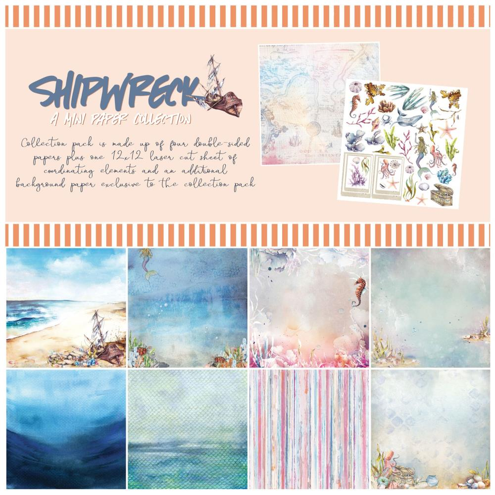 49 and Market Seaside Shipwreck Collection Kit