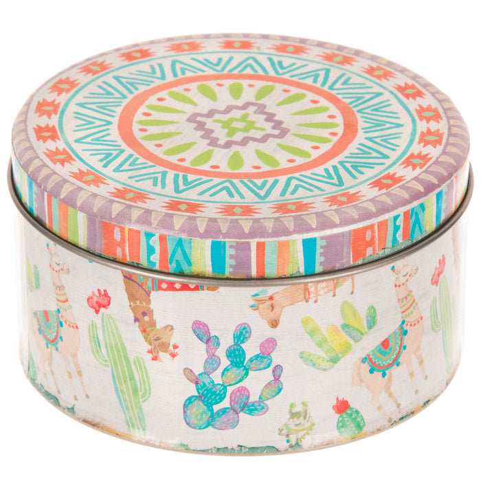 Scrap of Your Life Llama Drama Storage Tins - Scrap Of Your Life