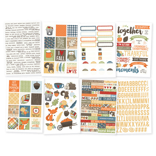 Simple Stories Hello Fall Stickers