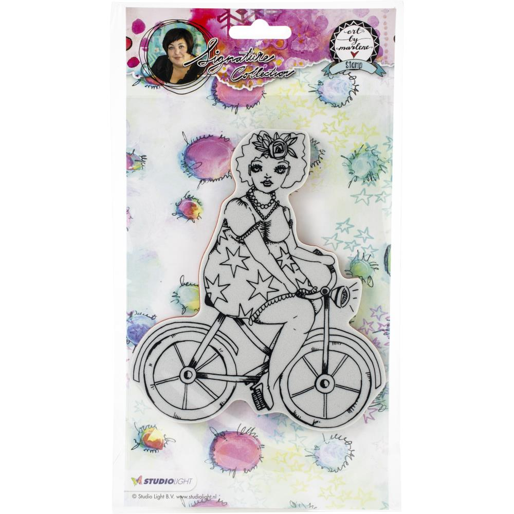 Art By Marlene Chubby Chick Stamp #2 - Scrap Of Your Life