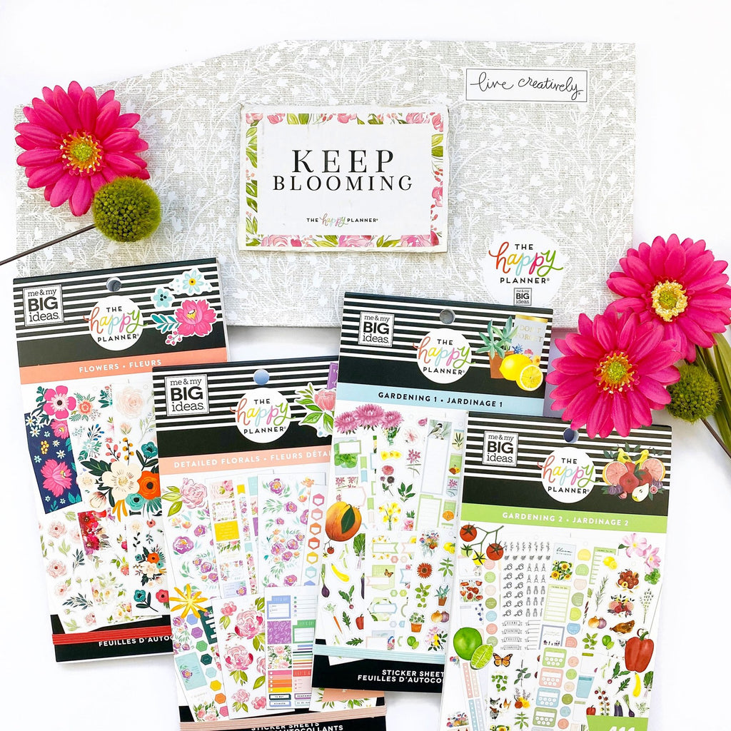 Me and My Big Ideas -  Happy Planner Bloom Box - Scrap Of Your Life