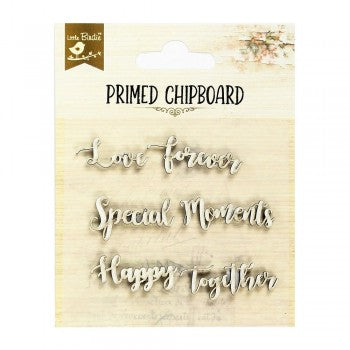 Little Birdie Chipboard Words - Happy Together - Scrap Of Your Life