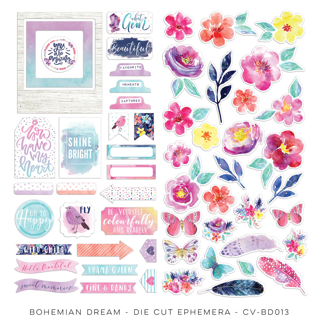 Cocoa Vanilla Studio Bohemian Dream Ephemera - Scrap Of Your Life
