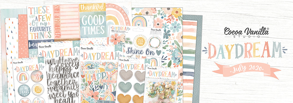Cocoa Vanilla Studio - Daydream - Bundle (The whole lot) - Scrap Of Your Life