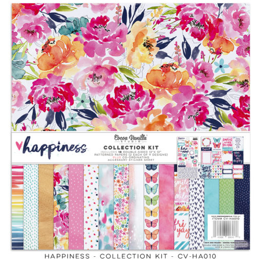 Cocoa Vanilla Happiness Collection Kit - Scrap Of Your Life