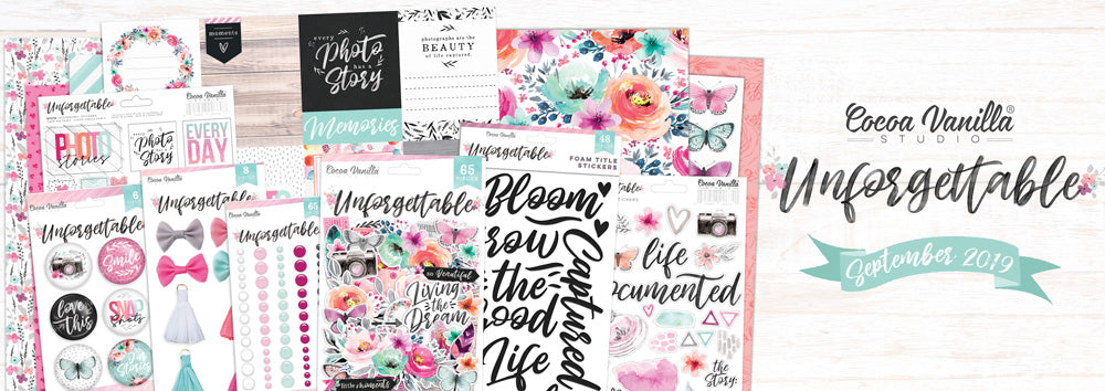Cocoa Vanilla Studio - Unforgettable - Bundle (The whole lot) - Scrap Of Your Life