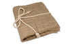 "Canvas Corp Stitched Book - Burlap 6"" x 6"""