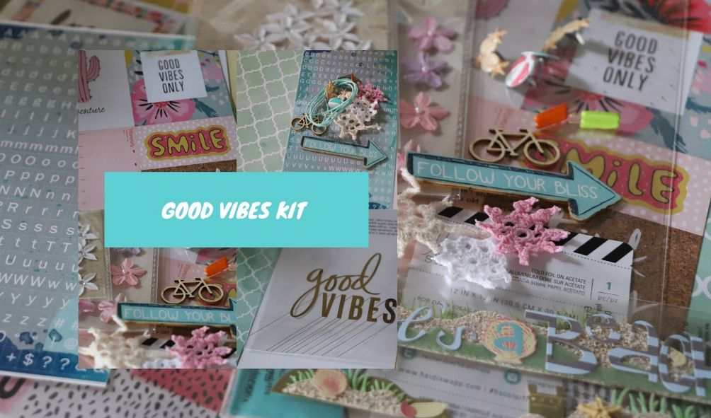 Scrap of Your Life Summer Vibes Kit - Scrap Of Your Life