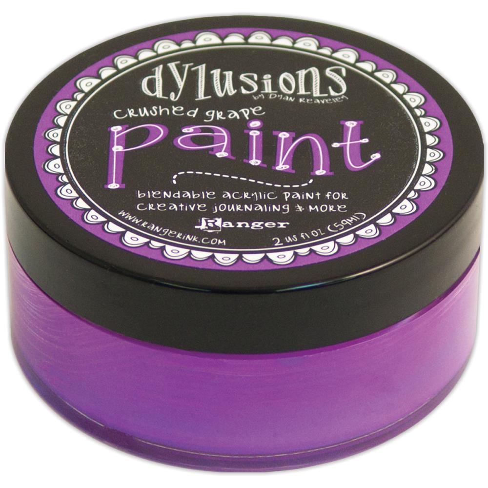 Ranger Ink - Dylusions - Acrylic Paint - Crushed Grape - Scrap Of Your Life