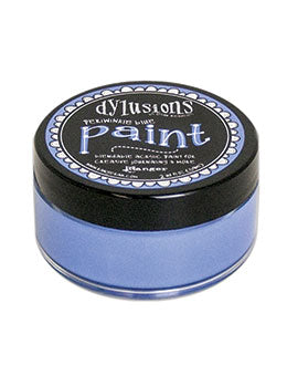 Dylusions Blendable Acrylic Paint Periwinkle Blue - Scrap Of Your Life