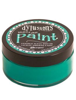 Dylusions Blendable Acrylic Paint Polished Jade - Scrap Of Your Life
