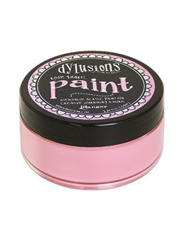 Dylusions Blendable Acrylic Paint Rose Quartz - Scrap Of Your Life