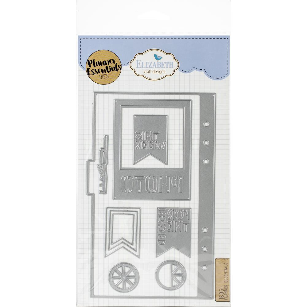 Elizabeth Crafts Planner Essentials Die No 3 - Scrap Of Your Life