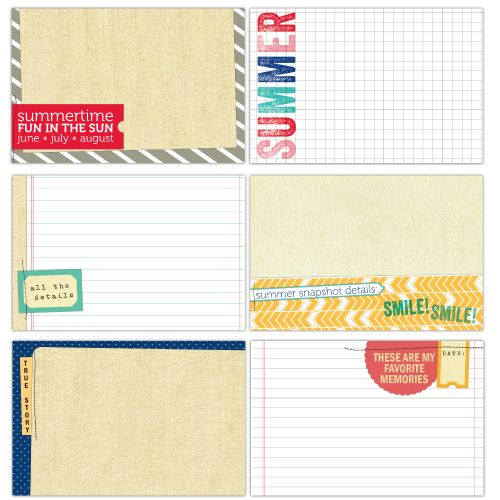 Elle's Studio Summer Lovin Journalling Tags - Scrap Of Your Life