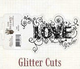 Fancy Pants Designs Glitter Cuts Love - Scrap Of Your Life
