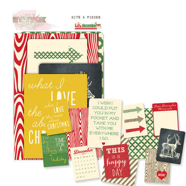 Glitz Designs - Hello December Collection - Bits n Pieces - Scrap Of Your Life