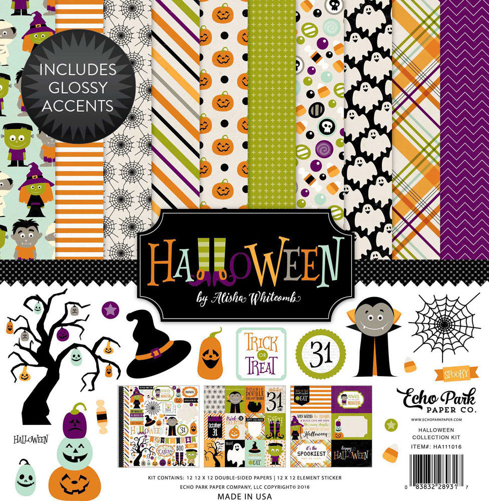 Echo Park 12 x 12 Collection Pack Halloween
