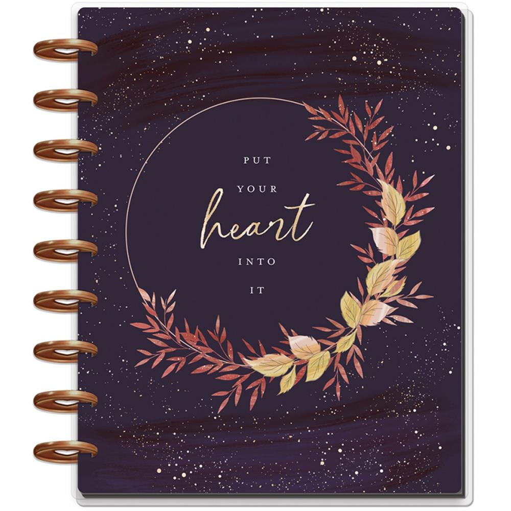"MAMBI Happy Planner 12-Month Dated Deluxe Classic Planner 9.25""X7"" Live with Heart - Scrap Of Your Life"