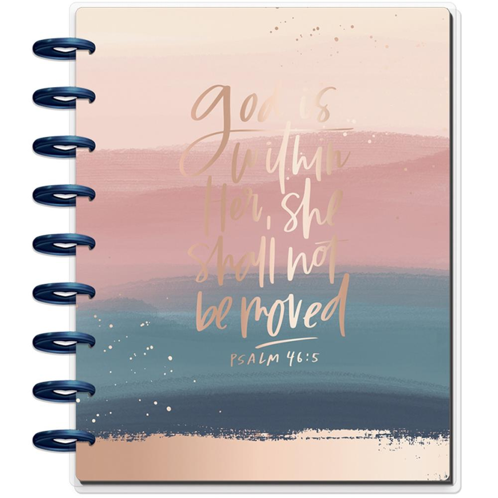 "MAMBI Happy Planner 12-Month Dated Deluxe Classic Planner 9.25""X7"" Psalms - Scrap Of Your Life"
