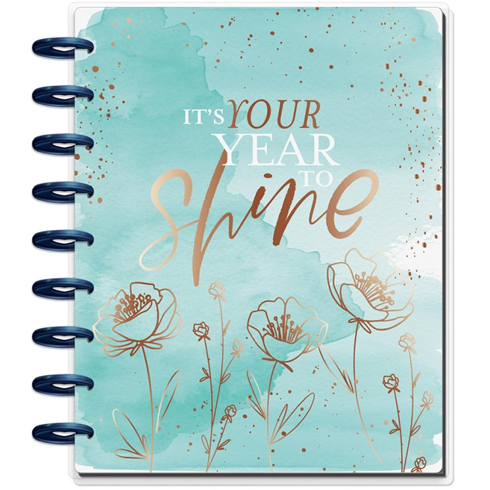 "MAMBI Happy Planner 12-Month Dated Deluxe Classic Planner 9.25""X7"" Year to Shine - Scrap Of Your Life"
