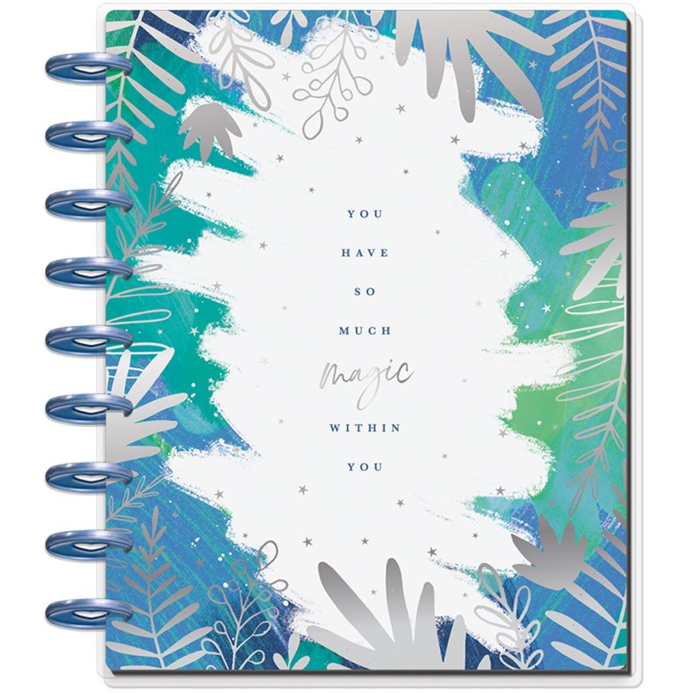 "MAMBI Happy Planner 12-Month Dated Deluxe Classic Planner 9.25""X7"" Stargazer Magic - Scrap Of Your Life"