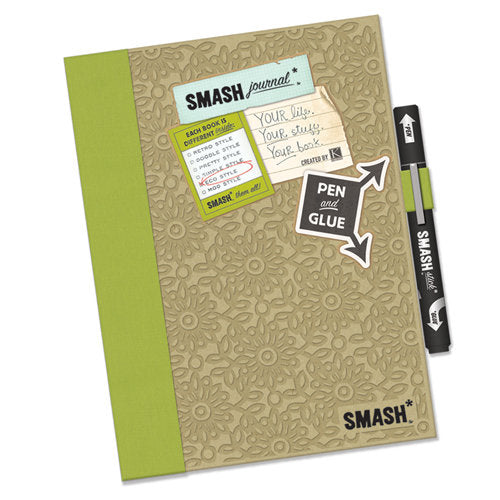 K and Company - SMASH Collection - Journal Book - Eco Green Folio - Scrap Of Your Life