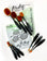 Picket Fence Blender Brush Set
