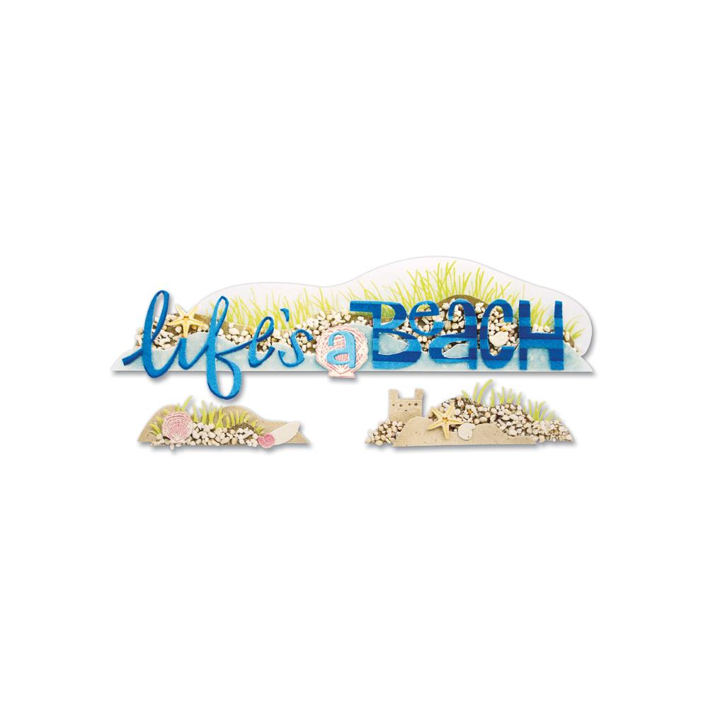 Jolee's Boutique Title Waves Dimensional Stickers - Life's a Beach - Scrap Of Your Life