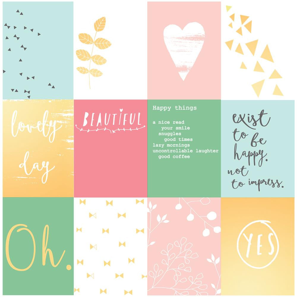 Pink Fresh Happy Things Acetate Cards